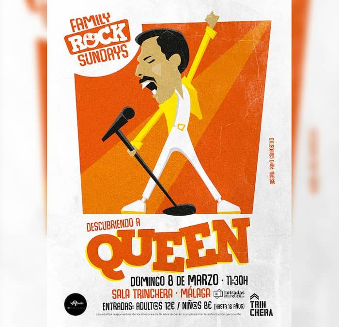 FAMILY ROCK SUNDAYS | Descubriendo a Queen
